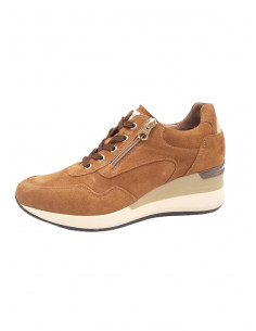 Sneakers de ante Marrón